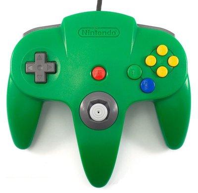 Nintendo 64 [N64] Controller Green (Neu Analogstick)