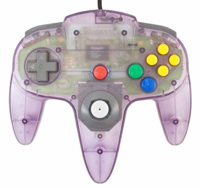 Nintendo 64 [N64] Controller Atomic Purple (mit neuem Analogstick)