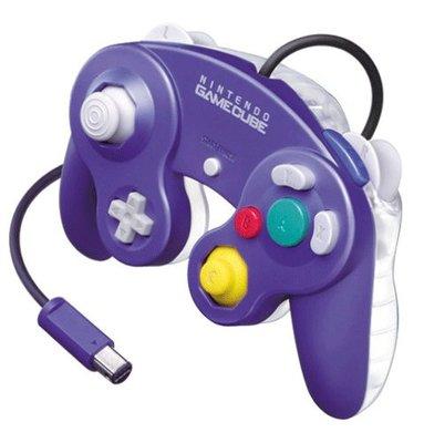 Original Nintendo Gamecube [NGC] Controller Purple Transparant