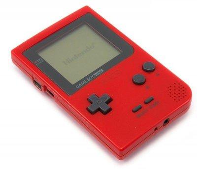 Gameboy Pocket Red