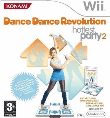 Dance Dance Revolution Hottest Party 2 + Dancemat