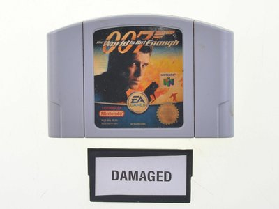 007 James Bond: The World is not Enough - Nintendo 64 - Outlet