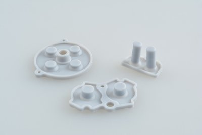 Gameboy Advance Rubber Pads - Grey