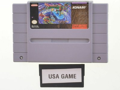 Turtles IV Turtles in Time [NTSC] - Outlet