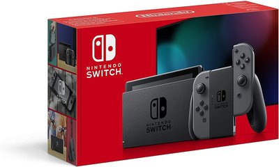 Nintendo Switch Console Starter Pack  Gray [Boxed]