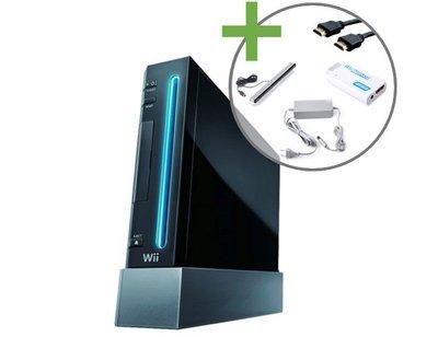 Nintendo Wii Console Zwart - HDMI Editie