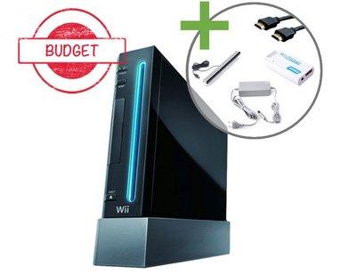 Nintendo Wii Console Zwart - HDMI Editie - Budget