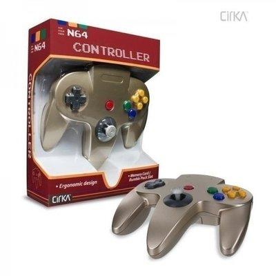 Neue Nintendo 64 [N64] Controller Gold