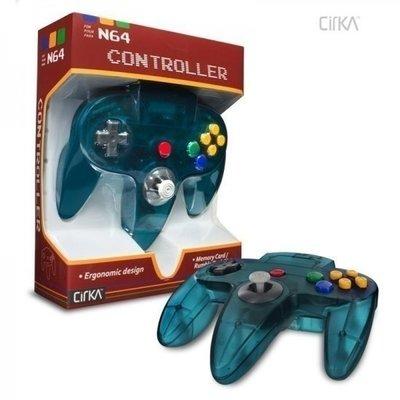 Neue Nintendo 64 [N64] Controller Aqua Blue