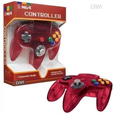 Neuer Nintendo 64 [N64] Controller Atomic Red