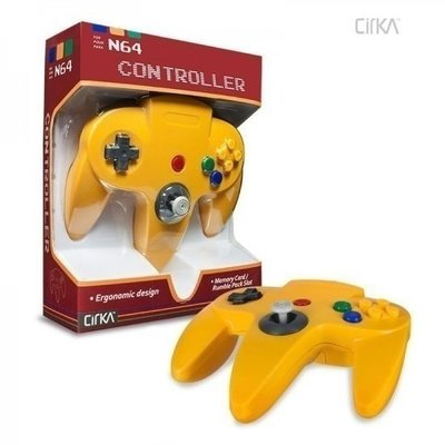 Neuer Nintendo 64 [N64] Controller Yellow