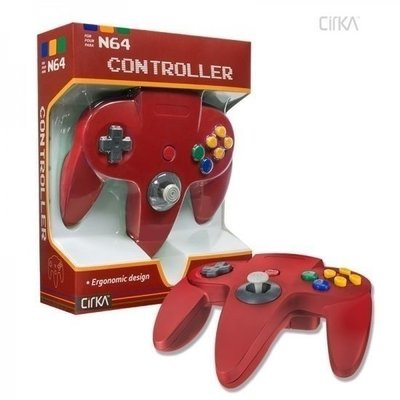 Neuer Nintendo 64 [N64] Controller Red