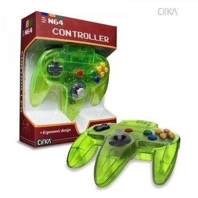 Neuer Nintendo 64 [N64] Controller Jungle Green