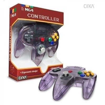 Neuer Nintendo 64 [N64] Controller Atomic Purple