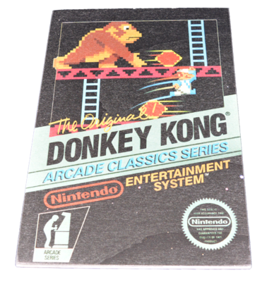 Donkey Kong Arcade [Wooden Art Small]