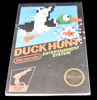 Duck Hunt Box Art Small [Wooden Art]