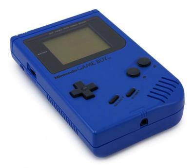 Gameboy Classic Blue