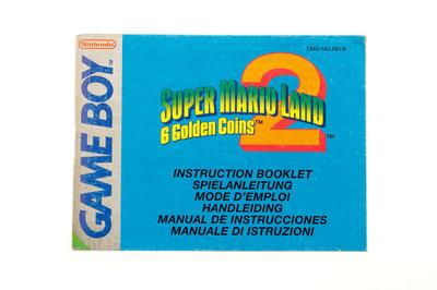 Super Mario Land 2: 6 Golden Coins (Manual)