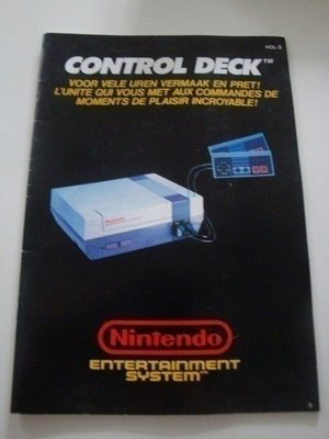 NES Control Deck [Manual]