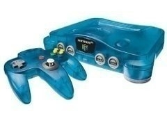 Nintendo 64 [N64] Konsole Atomic Blue + Controller