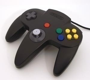 Nintendo 64 [N64] Controller Black (Neuer Analogstick)