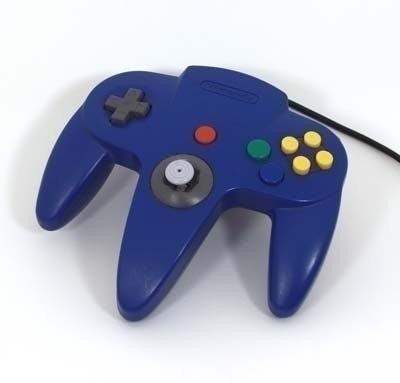 Nintendo 64 [N64] Controller Blue (Neuer Analogstick)