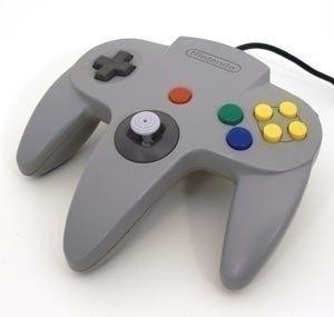 Nintendo 64 [N64] Controller Grey (Neu Analogstick)