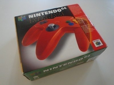Nintendo 64 [N64] Controller Red [Boxed]