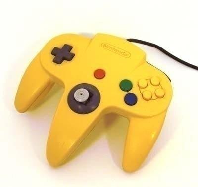 Nintendo 64 [N64] Controller Yellow (Neu Analogstick)