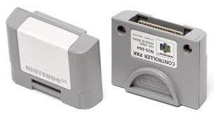 Nintendo 64 [N64] Speicherekarte (Controller Pack)