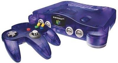 Nintendo 64 [N64] Konsole Atomic Purple + Controller