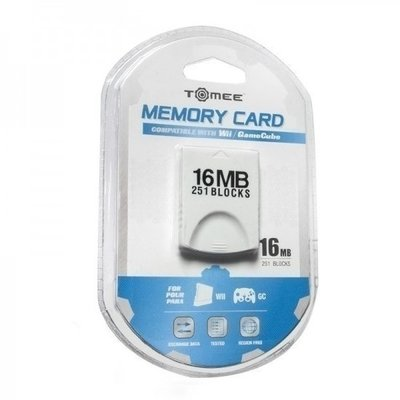 GameCube / Wii Memory Card 16 MB (Third Party)