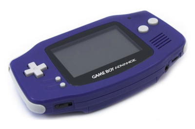 Gameboy Advance Blue