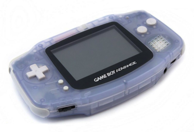 Gameboy Advance Transparent Blue