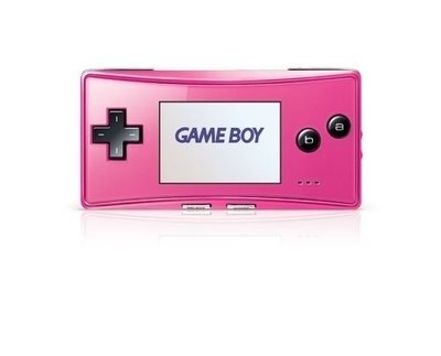 GameBoy Micro Pink