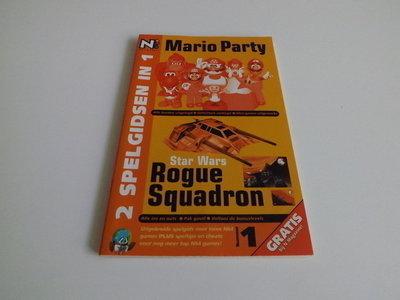2 spelgidsen in 1: Mario Party & Star Wars Rogue Squadron