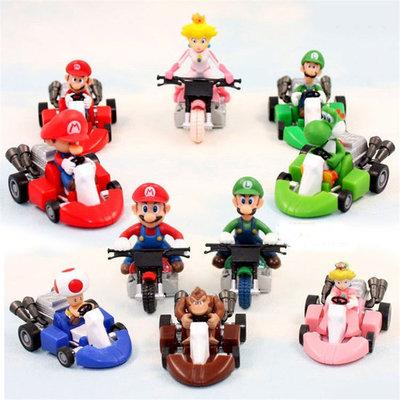 Mario Kart Figuren Set