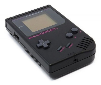 Gameboy Classic Black