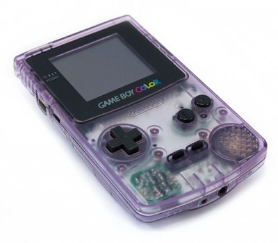 Gameboy Color Transparent Purple