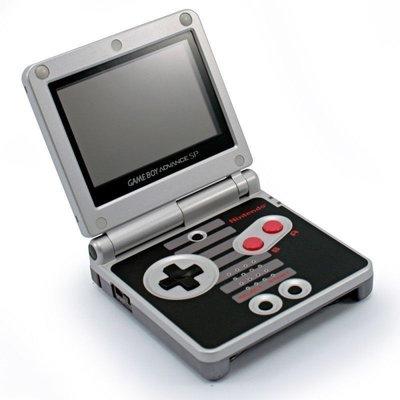 Custom Gameboy Advance SP NES Edition