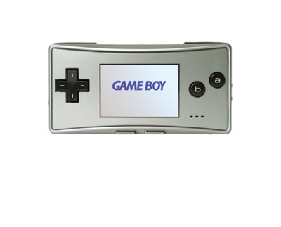 GameBoy Micro Silver