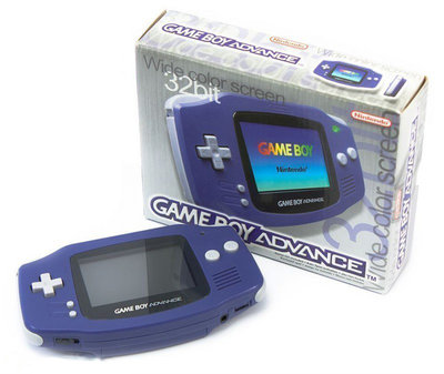 Nintendo Gameboy Advance Blue (9)