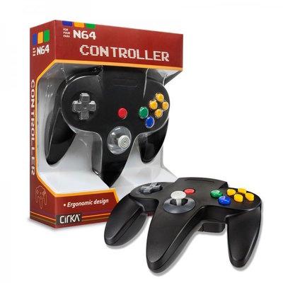 Neue Nintendo 64 [N64] Controller Schwarz