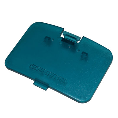 Nintendo 64 [N64] Konsole Cover Aqua Blue
