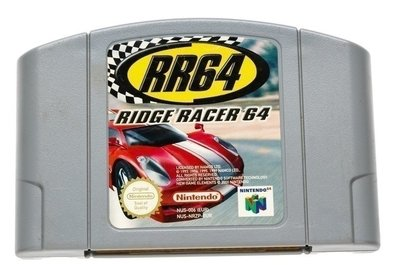 Ridge Racer 64 RR64