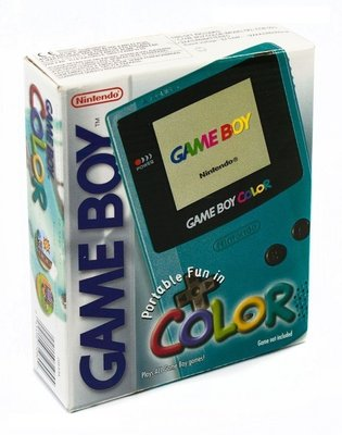 GameBoy Color Blau [Complete]