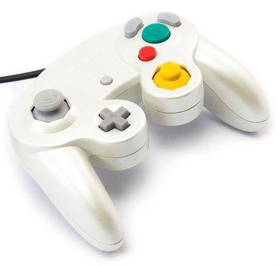 Original Nintendo Gamecube [NGC] Controller Pearl White