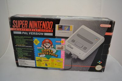 Super Nintendo Super Power Pack