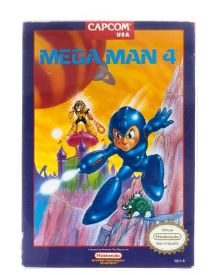 Mega Man 4 [NTSC]