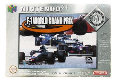F1 World Grand Prix (Player Choice)